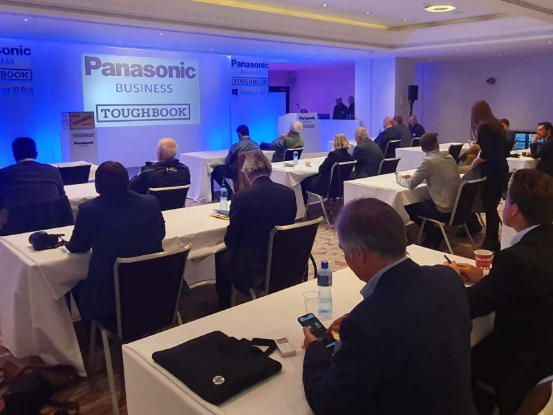 An evening with Panasonic – Introducing the new TOUGHBOOK 55